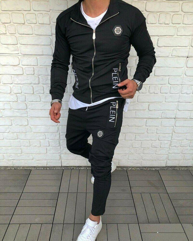 Спортивный костюм Philipp Plein Black: 999 грн - спортивная одежда philipp plein в Киеве, объявление №27242931 Клубок (ранее Клумба)