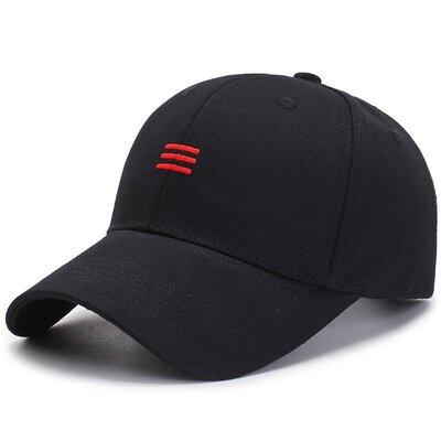 Черная бейсболка SGS - 6325