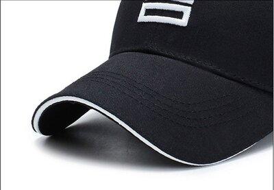 Бейсболка черная SGS - 6327