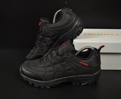 мужские кроссовки Merrell Vibram 41-46р черные с красным