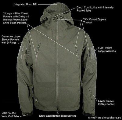 Куртка тактическая TAD style Soft Shell jacket .Фурнитура YKK. Качество на уровне Rothco и Condor