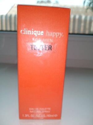 Мужская туалетная вода clinique happy for men тестер лимитированная версия 40 мл