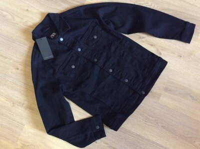 Джинсовая куртка ZARA р M S с биркой
