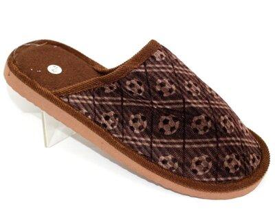 Мужские тапочки коричневые 41-46