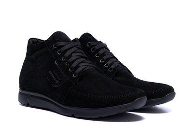 Мужские зимние замшевые ботинки мужские ботинки зима