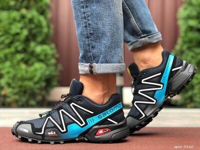 Мужские кроссовки 9860 Salomon Speedcross 3