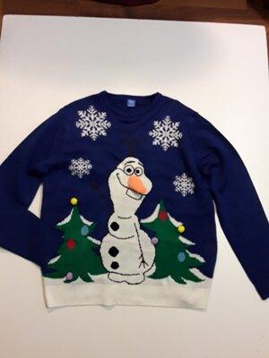 Фирменный джемпер свитер XXL