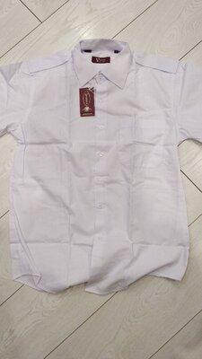 Продано: Белые сорочки под погоны с кор.рукав