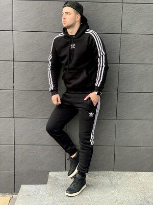 Мужской утепленный спортивный костюм
