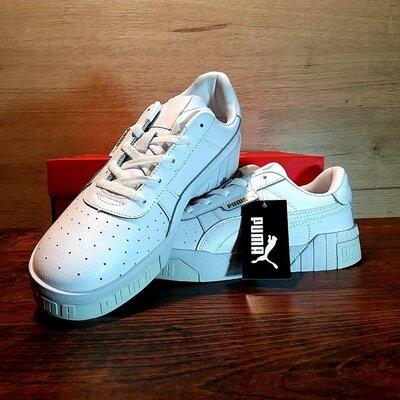 Мужские кроссовки Puma cali пума белые