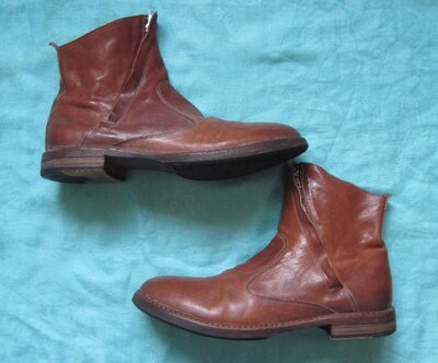 Moma 47 кожаные ботинки мужские
