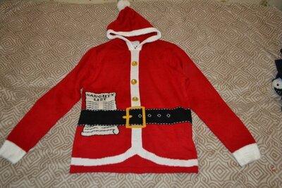 новый новогодний свитер Primark размер L-40-42 Англия