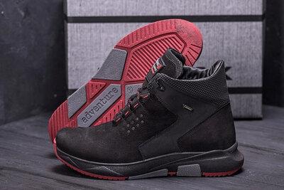 Мужские зимние кожаные ботинки ZG