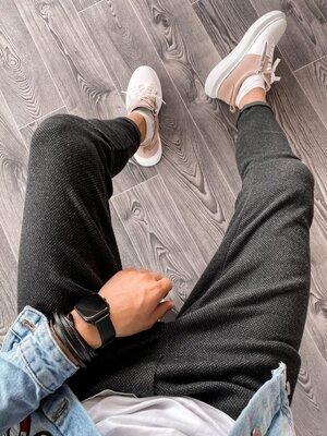 2020. Варианты. Европейское качество. Мужские Спортивные штаны, зауженные, темно-серые u17