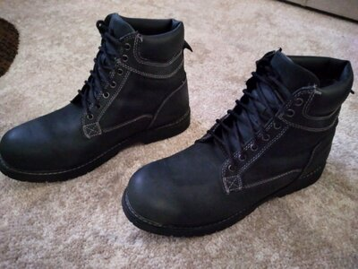 Кожаные ботинки демисезонные , сапоги, 43р