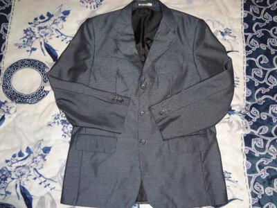 Пиджак мужской серый глянц в идеале