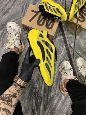 Мужские кроссовки Адидас Adidas, Топ качество, желтые, р. 41-45, 002-2244