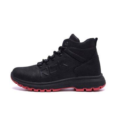 Мужские зимние кожаные ботинки Reebok Black leather