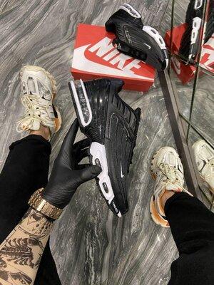 Новые мужские кроссовки Найк Nike, Топ качество, черные, р. 40-45, 002-2285