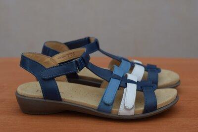Летние кожаные босоножки, сандалии Hotter, 37 размер. Оригинал