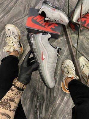Стильные мужские кроссовки Найк Nike 720, Топ качество, серые, р. 40-45, 002-2270