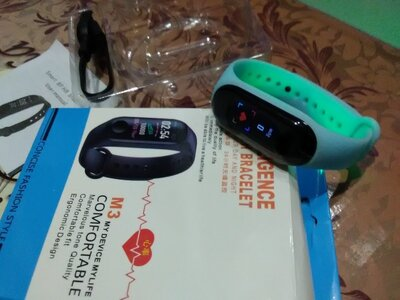 Smart Bracelet M3 фитнес браслет-часы Intelligence Health Bracelet
