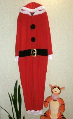 Кигуруми Санта, Деда Мороза пижама мужская L-XL