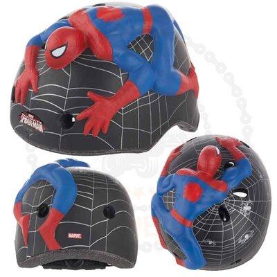 Шлем велосипедный, ролики детский Spiderman -46-52см
