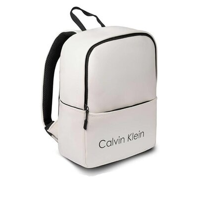 женский белый Рюкзак Calvin Klein кожзам