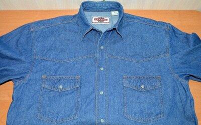Рубашка джинсовая CLASSIC® original M дефект сток SU30-4