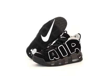 Зимние мужские кроссовки Nike Air More Uptempo Winter . Замша натуральная.
