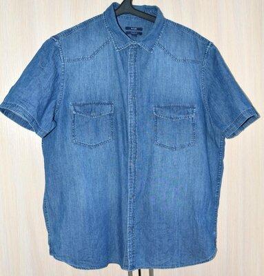 Рубашка джинсовая KIABI® original XL б.у. SU30-5