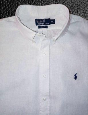 Рубашка Ralph Lauren®, оригинал XXL, лён 100%