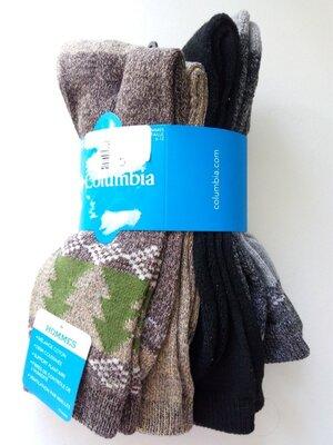 Носки мужские columbia sportswear moisture control оригинал р l 26-29,5