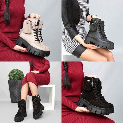 Ботинки в стиле Prada. Демисезон и зима. Натуральная кожа, замша.