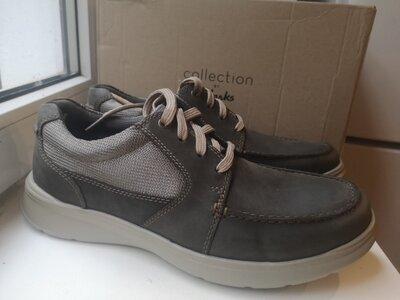 Туфли полуботинки Clarks р 44 оргинал