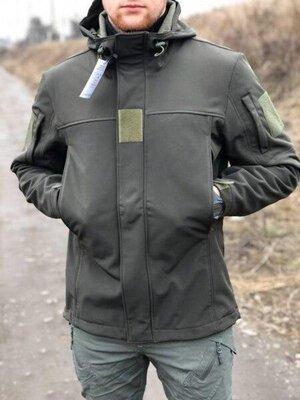 Куртка мужская soft shell legion - 12 олива