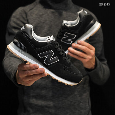 New Balance 574 замша