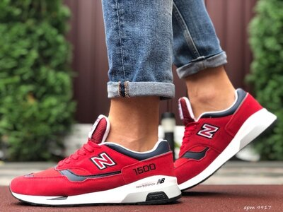 New Balance 1500 кроссовки мужские демисезонные красные 9917