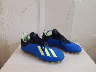 Футбольные бутсы Adidas X 18.3 AG оригинал размер 41-42