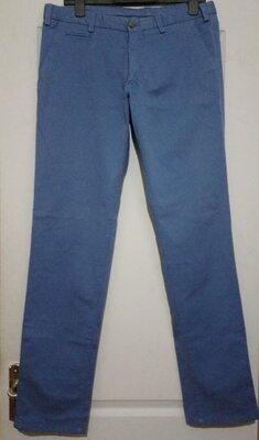 Брюки по типу чино массимо голубые брюки