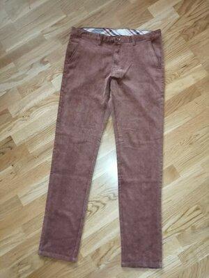 Вельветовые штаны брюки размер L