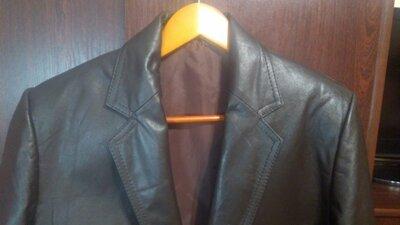 Мужской пиджак из натуральной кожи xl размер