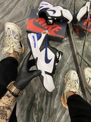 Стильные мужские кроссовки Найк Nike, Топ качество, белые, р. 36-45, 002-2299