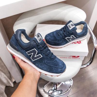 New Balance 574 мех
