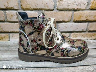 Продано: Демисезонные ботинки для девочки натуральная кожа