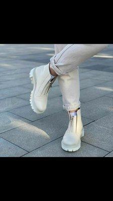 Осенние ботинки утеплённые женские натуральная кожа с 36 по 40 размеры