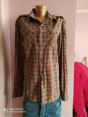Рубашка мужская,M, Bershka
