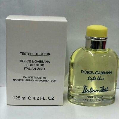 Тестер Dolce & Gabbana Light Blue Italian Zest Pour Homme 125 мл