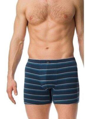 Мужские удлиненные шорты графитового цвета key. мужские трусы. key mxm 320 b20